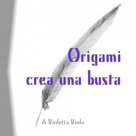 Origami crea una busta