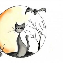 Il Gatto Nero – Halloween di ViolaV